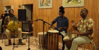 WEST AFRICAN DRUMMERS AT IIA  DIWALI MELA 2015