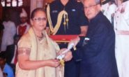 Dr Shabina Ahmed – National Award for Child Welfare 2014