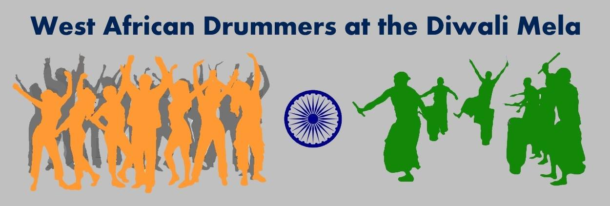 west-african-drummers-at-the-diwali-mela-2015