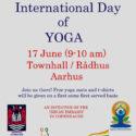 International day of Yoga in Aarhus