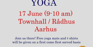 International day of Yoga in Aarhus