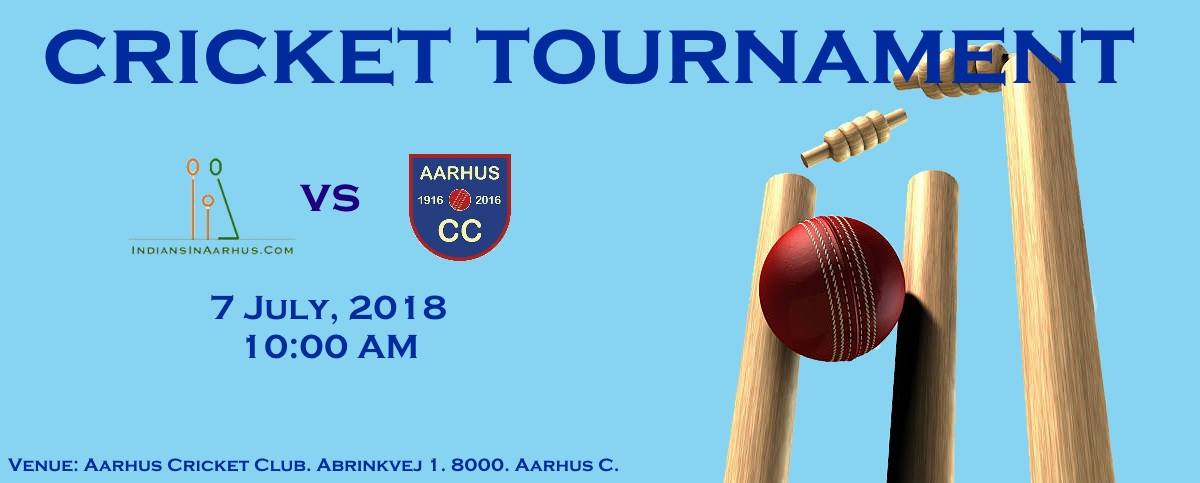 Cricket Tournament 2018 Indians In Aarhus